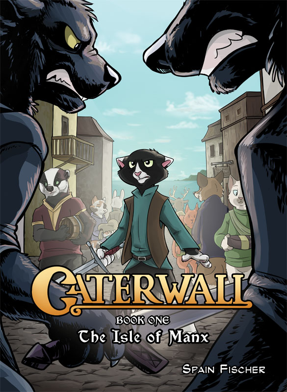 Caterwall Vol. 1: The Isle of Manx (Hardcover)