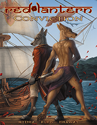 Red Lantern: Conviction (Hardcover)