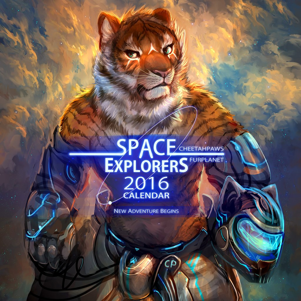 Space Explorers 2016 Calendar