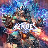 Heroes 2018 Calendar