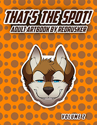 That's the Spot! Adult Artbook by Redrusker Volume 2