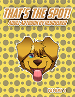 That's the Spot! Adult Artbook by Redrusker Volume 4