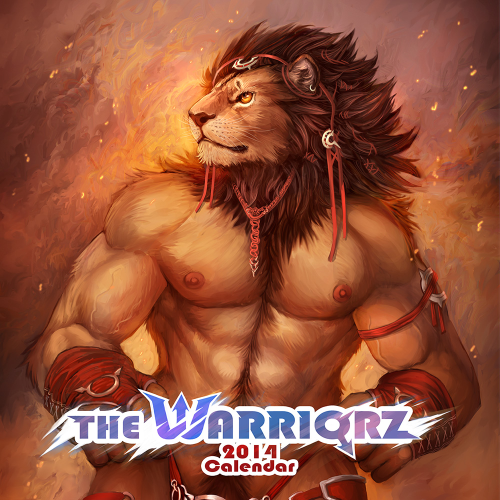 The Warriorz 2014 Calendar