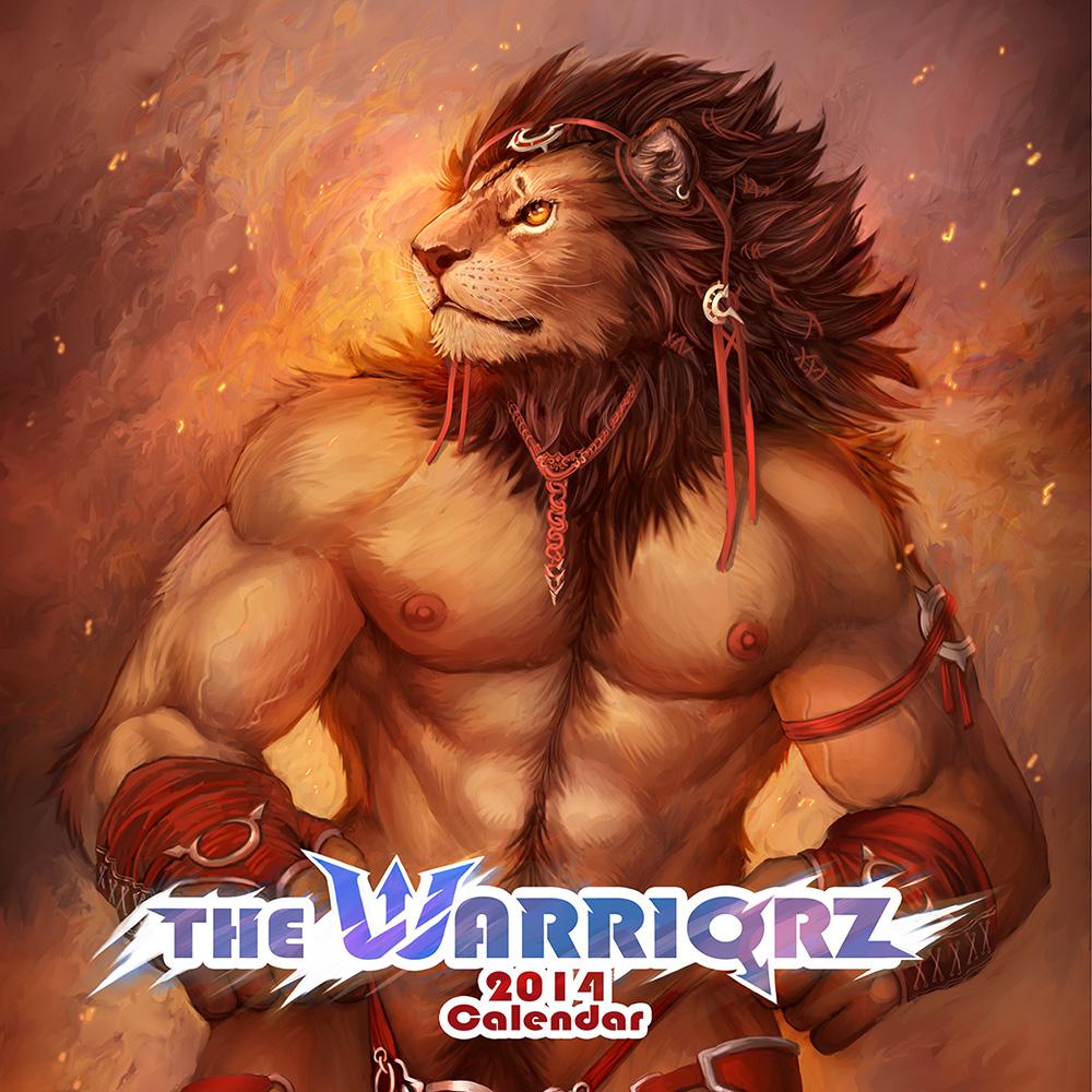 The Warriorz 2014 Calendar